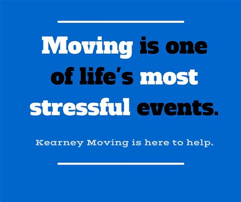 Moving is stressful; it doesn't have to be