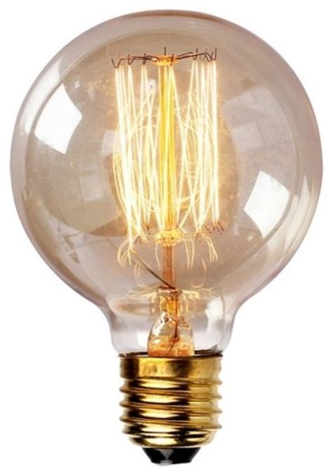 edison tungsten globe filament vintage light bulb