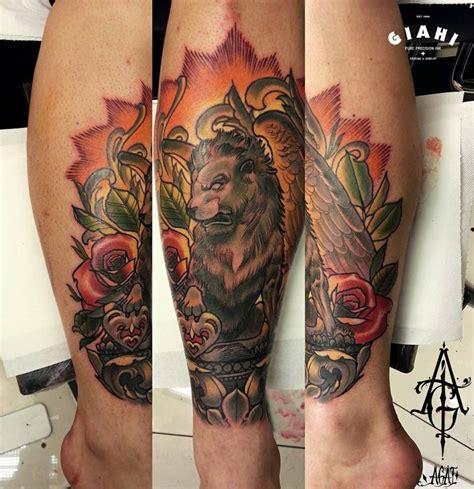 rose manticore lion tattoo  agat artemji  tattoo ideas gallery