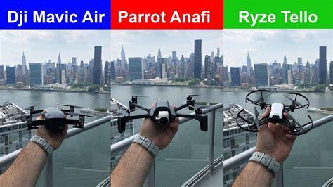 indoor flight parrot anafi  mavic air  tello drone