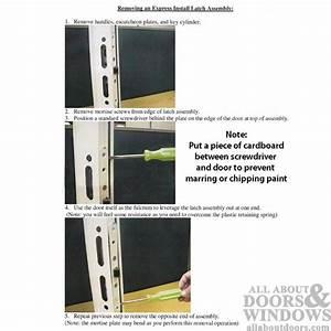 Pella Storm Door Lock Replacement