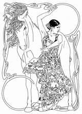 Coloring Spanish Pages Dancer Adult Dancers Belly Deviantart Printable Dance Books Drawings Az sketch template