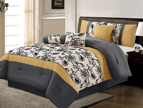yellow bed comforter yellow and black bedding ease bedding with style