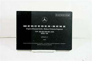 Mercedes Benz Engine Chassis Parts Catalog Manual 300sd