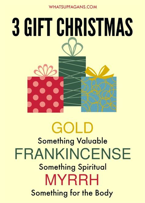 how to limit christmas gifts to 3 or 4 without being a scrooge
