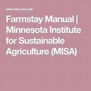Farmstay Manual