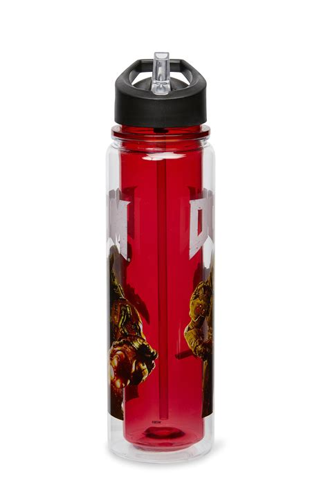 High level of detail and incredible simplicity of use. DOOM Cyberdemon 26oz Double Walled Plastic Water Bottle | eBay