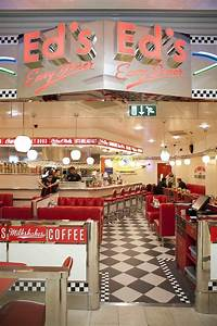 American Diner Einrichtung : 1950 39 s burger diners all american menu at ed s diner in highcross leicester eat out ~ Sanjose-hotels-ca.com Haus und Dekorationen