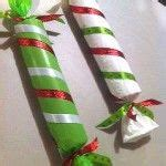 candy decorations  pool noodles christmas pinterest