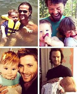 Jensen Ackles baby is adorable | Attractive Men & Iconic ...