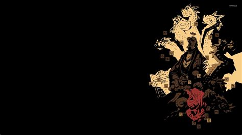 Calvin And Hobbes Wall Paper Hellboy The First 20 Years Wallpaper Comic Wallpapers 31413
