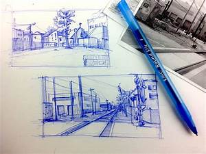 Urban Sketching Series Pt 3 | Tips on how to breakdown a ...