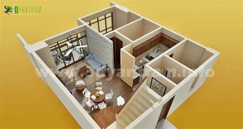 More 3d Home Walkthroughs by 3d Floor Plan Home Design Http 3d Walkthrough Rendering
