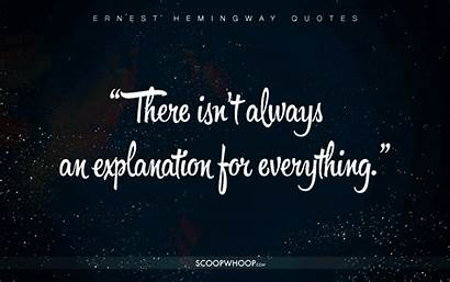 Quotes Hemingway Ernest Cheat Scoopwhoop Profound Happier