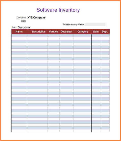 Inventory Template 5 Inventory Spreadsheet Templates Excel Spreadsheets