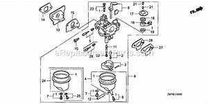 Honda Gxh50 Parts List And Diagram