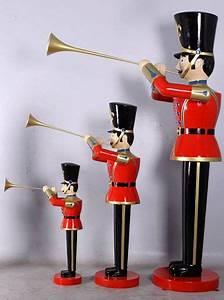 Casse Noisette Deco Noel : soldat trompette 3 tailles statues no l ~ Premium-room.com Idées de Décoration