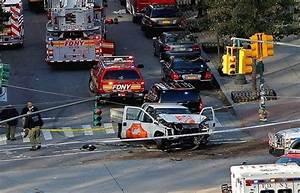 8 killed as truck driver plows through bike path in New ...