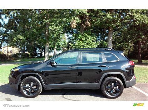 2017 jeep altitude black 2017 black crystal pearl jeep cherokee sport