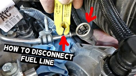 disconnect fuel  fuel  disconnect tool