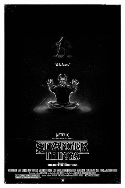 Stranger Things Netflix Connan Patrick Poster Posterposse