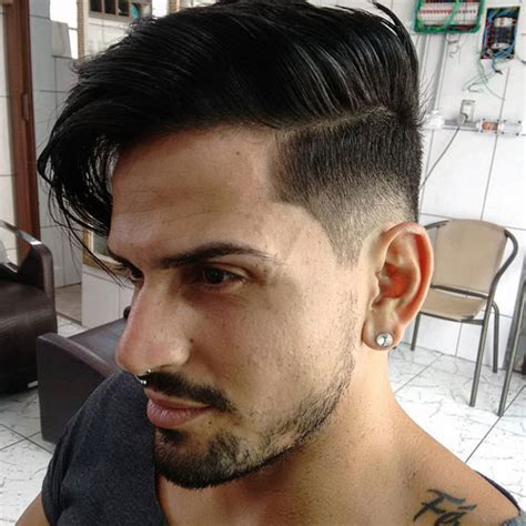 Mid Fade Haircut   Men's Hairstyles   Haircuts 2018