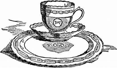 Teacup Clipart Teacups Tea Washington Martha Cup