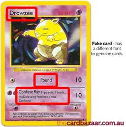 How to Tell Fake Pokemon Cards