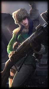 Arctic Warfare Caitlyn :: League of Legends (LoL) Champion ...