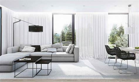 grey contemporary living room ideas 15 modern white and gray living room ideas home design lover Grey Contemporary Living Room Ideas