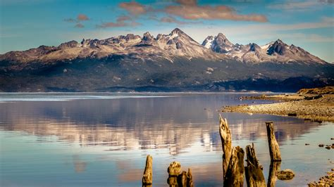 Desktop Photo Hd by Wallpaper Mountain 4k Hd Wallpaper Lake Sea Ushuaia