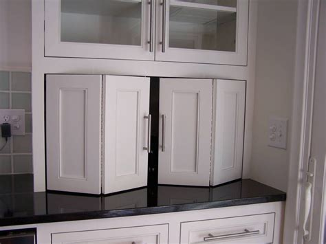 kitchen cabinet garage door recycle bifold doors doors appliance lift wide 5417