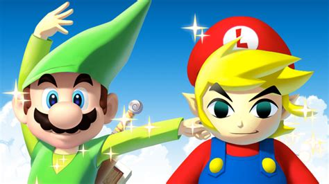 The Best Weirdest Mariozelda Crossovers Kotaku Australia