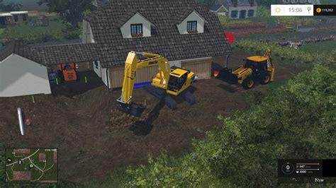 komatsu pc  mod farming simulator   mod