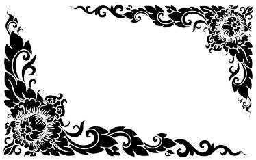 background undangan pernikahan hitam putih background