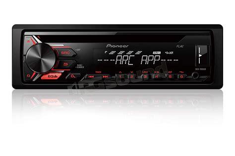 pioneer deh 1900ub pioneer deh 1900ub cd usb aux in e illunimazione rossa autoradio rg sound store