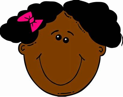 African Clipart American Clip Hair Happy Face