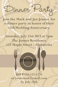Dinner Party Invitation Wording | THERUNTIME.COM