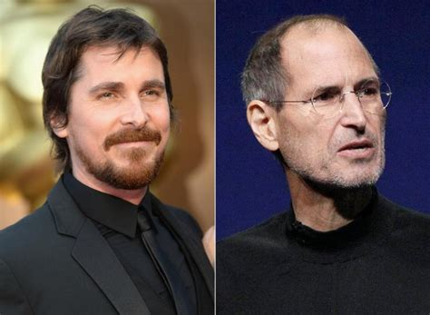 Christian Bale Talks Play Steve Jobs Biopic