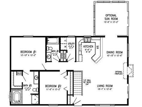 bedroom modular floor plans concept main level laundry