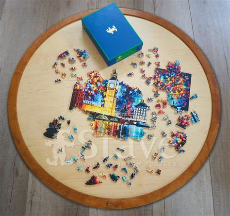 Stave Spinning Puzzle TableTop, a boards & boxes puzzle ...