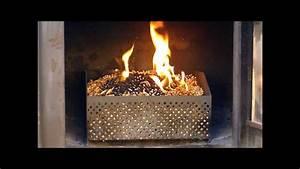 Cheminée à Pellet : panier pellet granul de bois bruleur de pellets ~ Edinachiropracticcenter.com Idées de Décoration