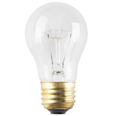15 watt havells 60503 clear appliance incandescent light