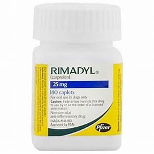 rimadyl carprofen 25mg 180 caplets