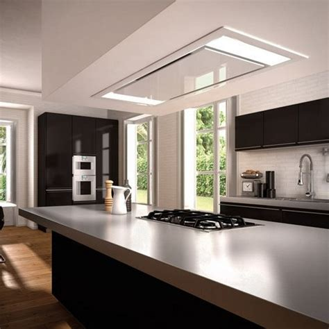 hotte d angle de cuisine hotte plafond roblin hotte plafond roblin sur