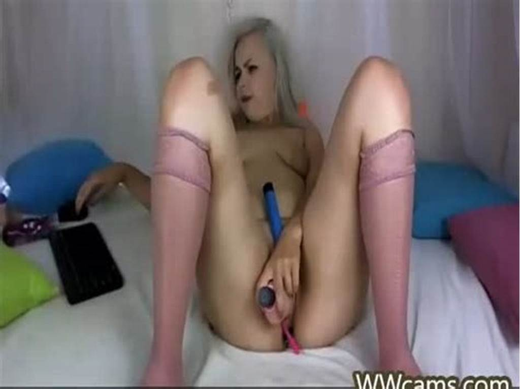 #Girl #Playing #With #Her #Holes