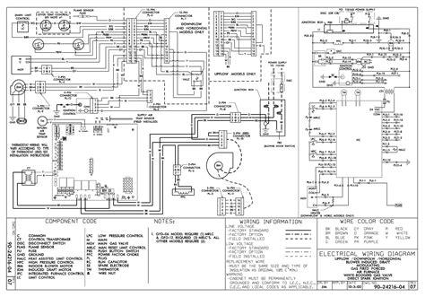 trane air handler wiring schematics trane get free image