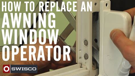 How To Replace An Awning Window Operator [1080p]  Youtube