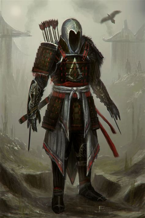 Assassins Creed Feudal Japan By ~tomedwardsconcepts On