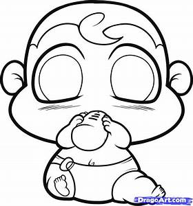 How to Draw a Chibi Baby, Step by Step, Chibis, Draw Chibi ...